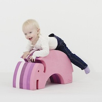 Bobles Elefanten til babyer