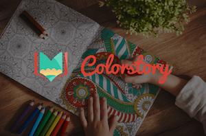 Colorstory - print selv tegninger til børn og voksne